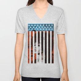 Angela Davis Political Prisoner Unisex V-Neck