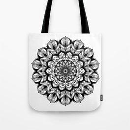 One Day Love Mandala Tote Bag
