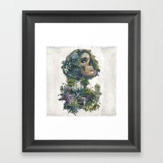 Between Life and Death Framed Art Print