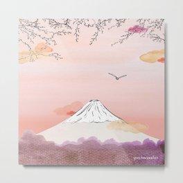 Fujiyama - View from Atami // Tokyo // Japan Metal Print