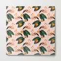 Flamingos & Tangerines Pattern by ikay
