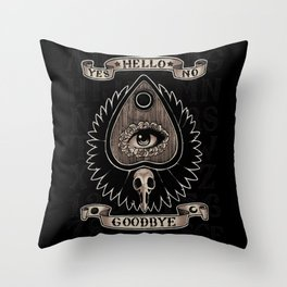 Planchette Throw Pillow