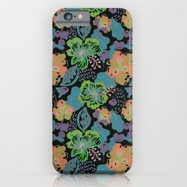 Hand Drawn Floral 0052  iPhone Case