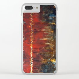 Seams Clear iPhone Case