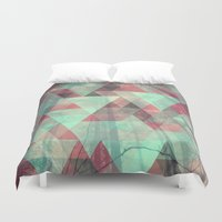 woods Duvet Covers featuring Woods by Hope