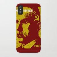 soviet iPhone & iPod Cases featuring Vladimir Mayakovsky, Soviet Poet by Adam Metzner