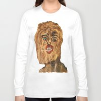 grunge Long Sleeve T-shirts featuring grunge  by Samantha Sager