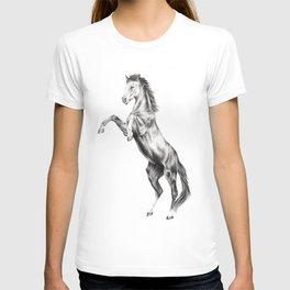 Rearing horse T-shirt