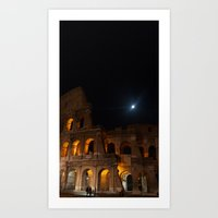 rome Art Prints featuring Rome by Fimbis