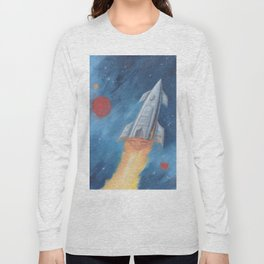 Rocket Fire Long Sleeve T-shirt
