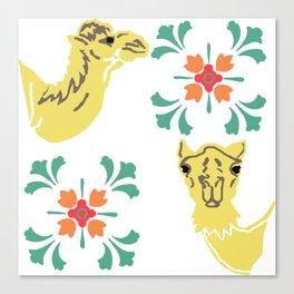 Camel Love by Lorloves Design Canvas Print