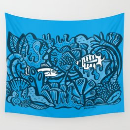 Encounter / Encuentros Wall Tapestry