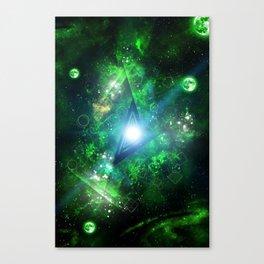 Green Gate Canvas Print