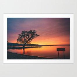 Seneca Lake - New York, USA Art Print
