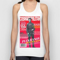 COSMARXPOLITAN, Issue 15 Unisex Tank Top