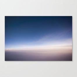 silent morning above Java Canvas Print