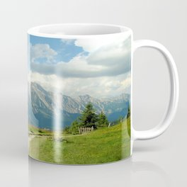 Mountain Range in Austria Coffee Mug