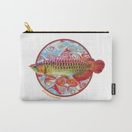 The Eco Mural Project 3: Arowana Carry-All Pouch