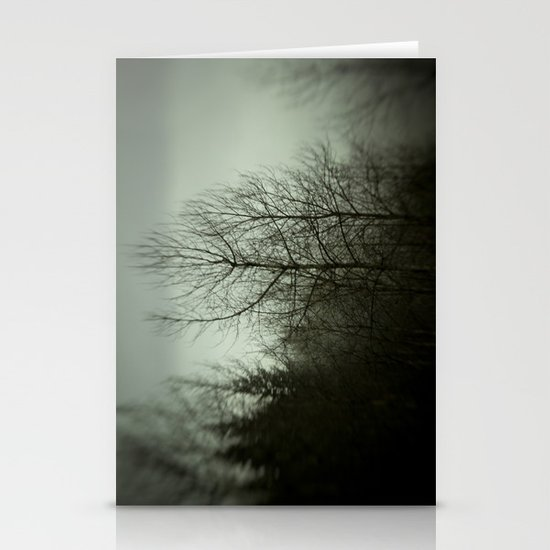 Tree mist Stationery Cards