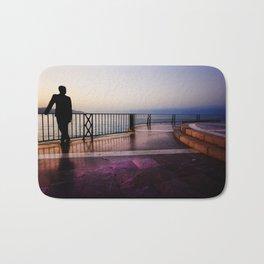 Balcon de Europa silhouette Bath Mat