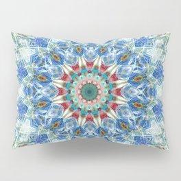 Kaleidoscope No. 3 - Blue Pillow Sham