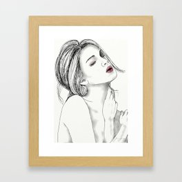 Faint Desire Framed Art Print