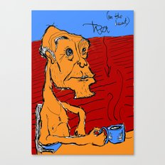 tea in the desert Canvas Print