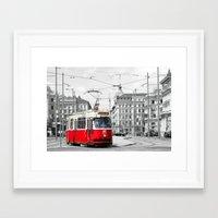 vienna Framed Art Prints featuring Vienna by Ira Golenkova