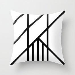 Bold Deco Throw Pillow