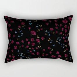 Skull Collection - Roses, Butterflies & Hummingbirds match Rectangular Pillow