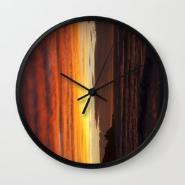 When the sky turns Wall Clock