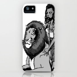 The Lion and the Boy iPhone Case