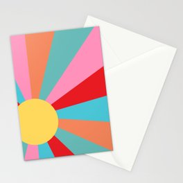 Ray of Sunshine 1950s Stationery Cards
