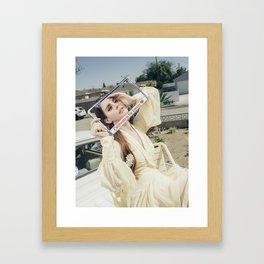 California is for Lovers Framed Art Print