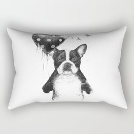 My heart goes boom Rectangular Pillow