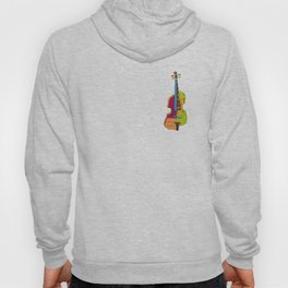 A colorful violin Hoody