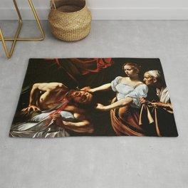 Merisi da Caravaggio - Judith enthauptet Holofernes Rug