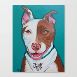 Tippy the Pit Canvas Print