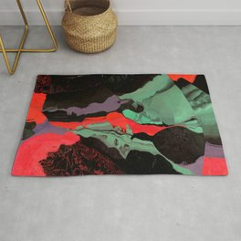 When red and green move together Rug