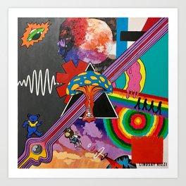 Musical Mashup Art Print