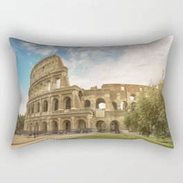 Discovering Coliseum Rectangular Pillow