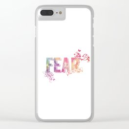 fear not, for I am with you Clear iPhone Case