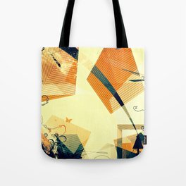 Butterfly and the tree Tote Bag