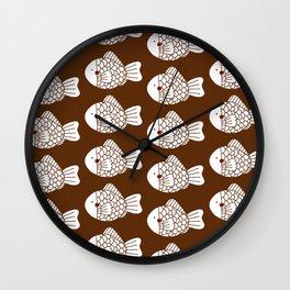 Fish Cake Wall Clock