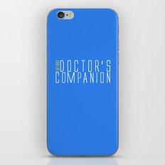 Future Doctor's Companion iPhone & iPod Skin