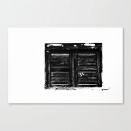window Canvas Print