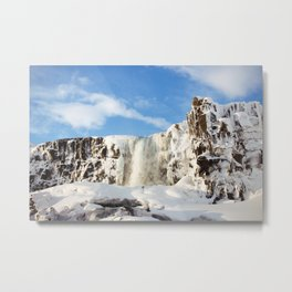 frozen freefall Metal Print