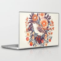 circle Laptop & iPad Skins featuring Wren Day by Teagan White