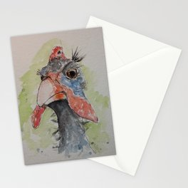 Guinea fowl Stationery Cards