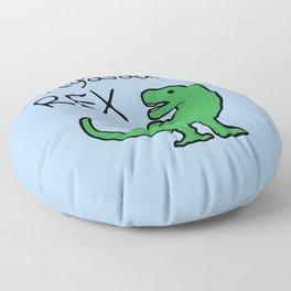 Pregasaurus Rex Floor Pillow